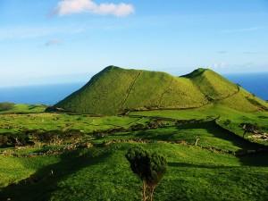 Volcan, Açores