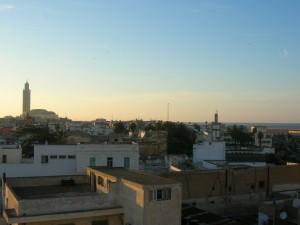 coucher de soleil Casablanca