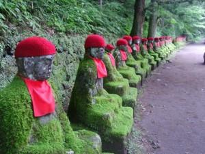 statues à Nikko