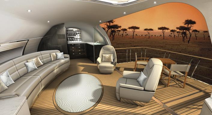 avion de luxe
