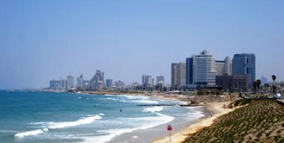 Tel Aviv, vue depuis Jaffa