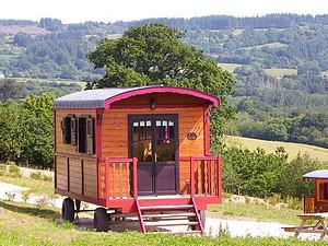 Camping en roulotte
