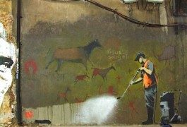 Londres par Banksy