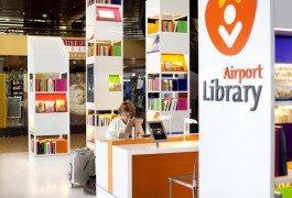 Amsterdam Schiphol ouvre la première bibliothèque d'aéroport