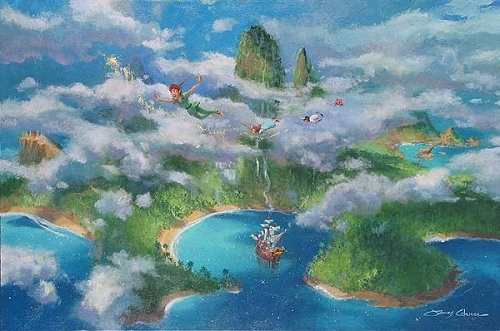 Neverland, Peter Pan