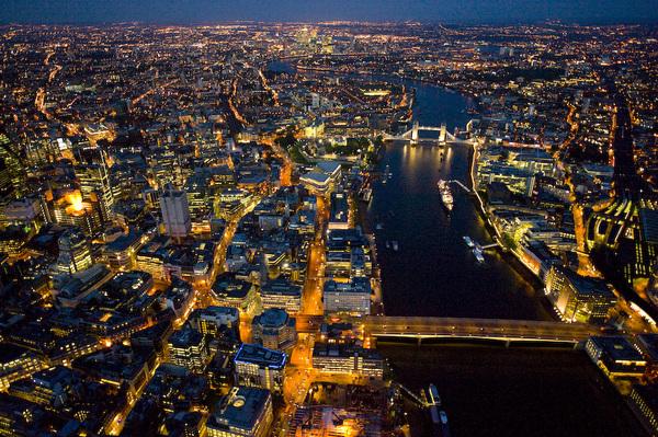 Londres par Jason Hawkes