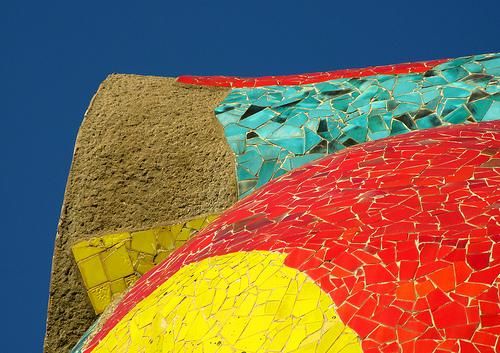 Le Parc Miro à Barcelone