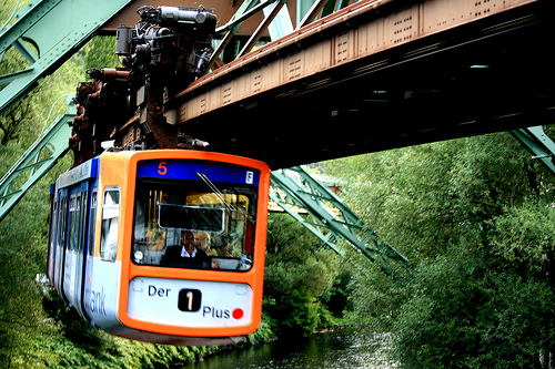 Métro suspendu de Wuppertal