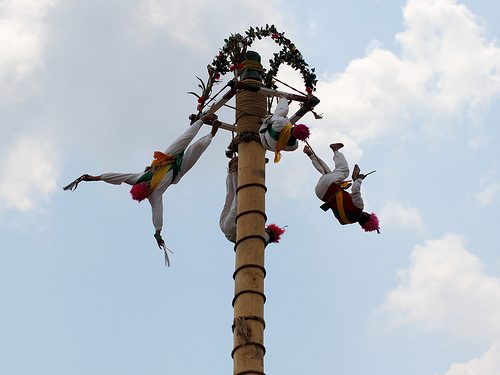 Voladores, Mexique