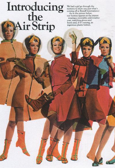"""Pub """"Air Strip"""" années 60"""