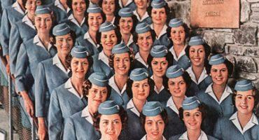 Des pubs de compagnies aériennes vintage