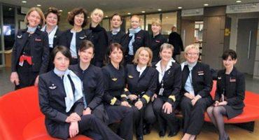Journée de la femme: un vol Air France 100% féminin