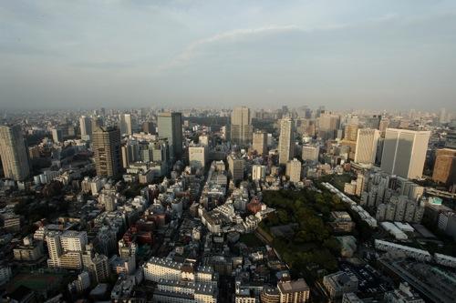 Vue depuis le Ritz Carlton, Tokyo