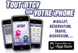 idTGV lance m-billet, le billet de train sur iPhone