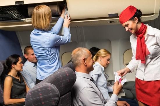 Hôtesse de l'air voyage handicap