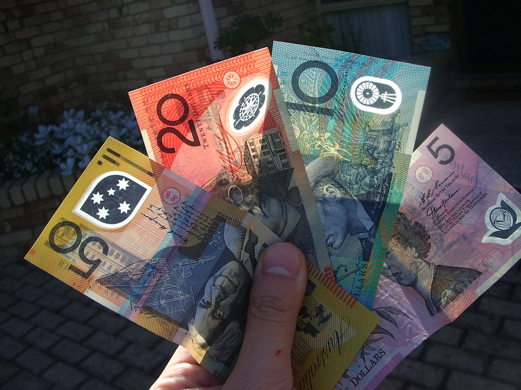 Les dollars australiens