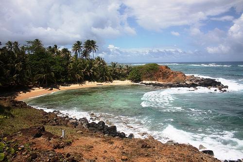 La petite île du Maïs