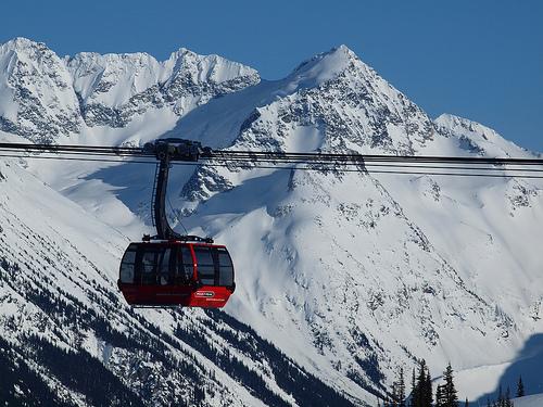 Le Peak 2 Peak Gondola au Canada