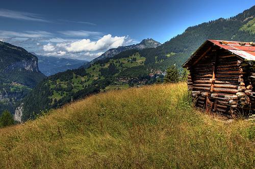 Wengen en Suisse