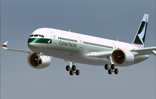 L'A350 en vol