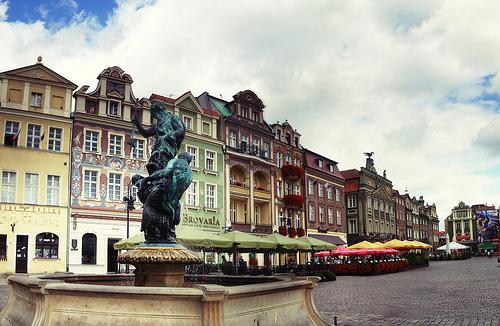 La place du vieux marché de Poznan
