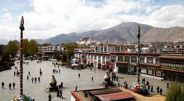 visiter lhasa el le barkhor