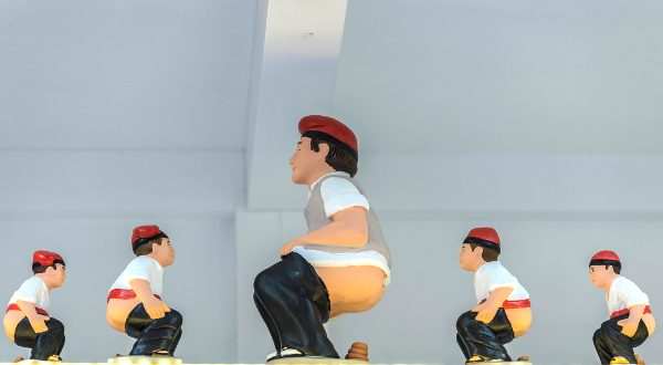 Caganer, Catalogne