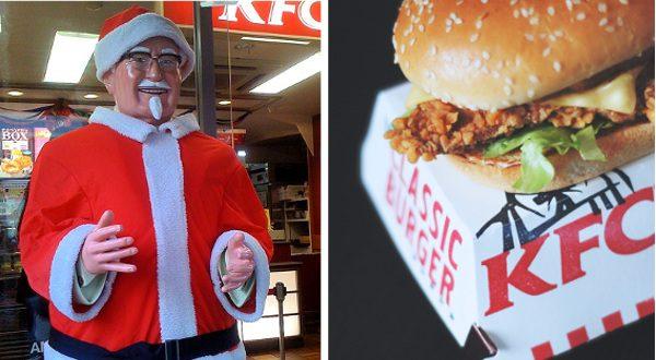 KFC japon noël