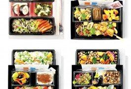 Des menus à la carte chez KLM en classe éco