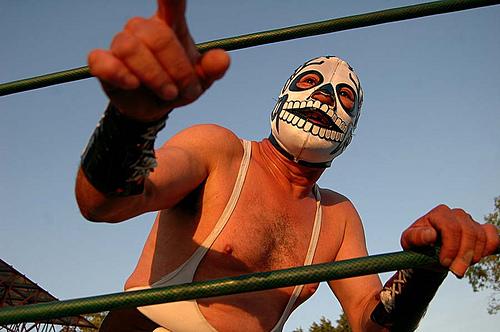 Un combat de lucha à Mexico