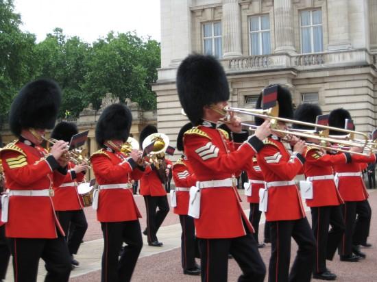 Angleterre-La garde royale