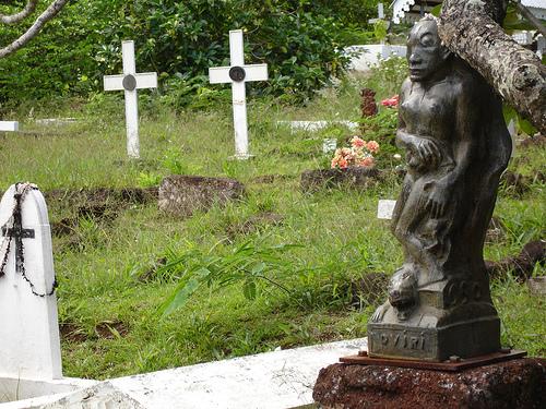 La tombe de Gauguin