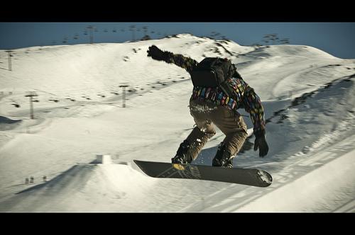 Le snowpark des 2 Alpes