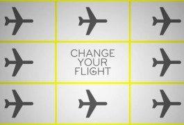 Billets d'avion inutilisés ? Essayez «ChangeYourFlight»!