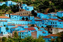 Júzcar, le village des Schtroumpfs