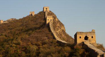 La Muraille de Chine prend encore de l'ampleur
