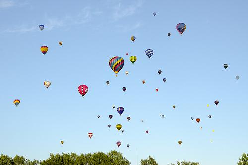 montgolfiere en france