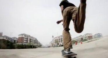 En Chine, une ville fantôme squattée par des skaters