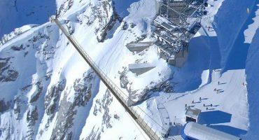 La Suisse ouvre le plus haut pont suspendu d'Europe