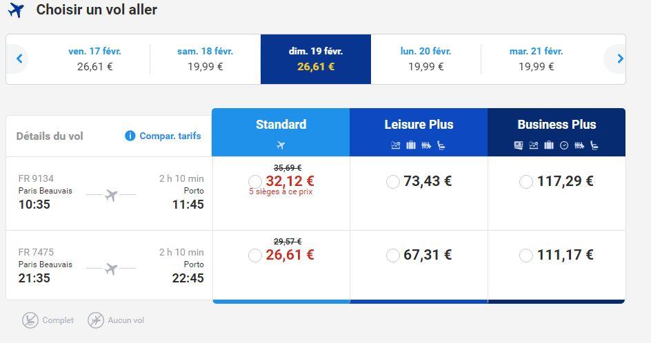 Ryanair site web
