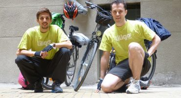 De Budapest à Belgrade à bicyclette, le périple de Romain et Julien