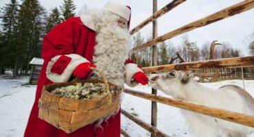Finlande : le Père Noël vous dit «Oh Oh Oh ! »