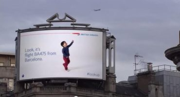 « lookup », la nouvelle campagne intelligente de British Airways