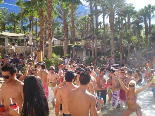 "La pool party ""Rehab"" au Hard Rock Hotel & Casino"