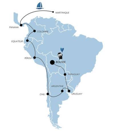 Trip & Troc Itinéraire