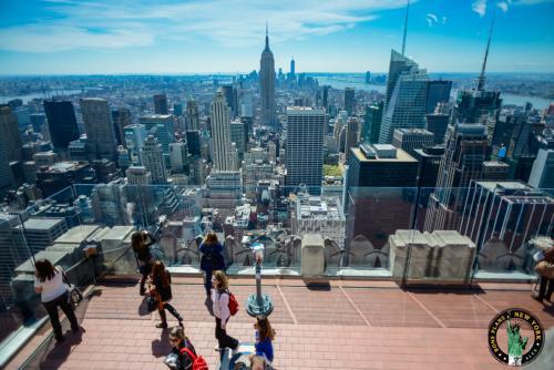 Admirez Central Park mais aussi l'Empire State Building depuis le Top of the Rock