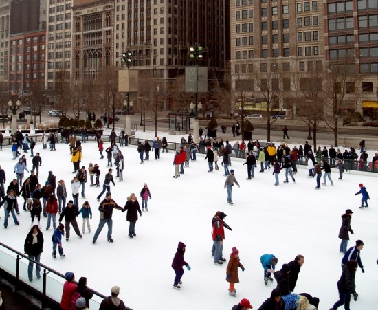 chicago-patinoire
