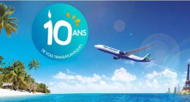 Air Caraïbes fête son anniversaire en beauté
