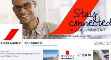 Air France vous assiste sur les réseaux sociaux