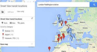 Google Street View : maintenant les gares et les aéroports